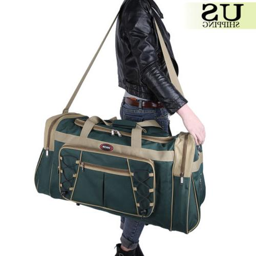 """26"""" Waterproof Tote Travel Gym Bag Duffle Carry Luggage"""