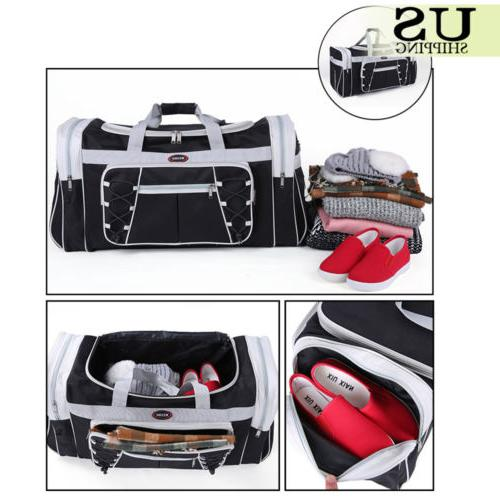 """26"""" Overnight Travel Gym Sport Bag Duffle Carry On Luggage"""