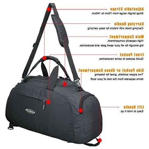 G4Free 3-Way Backpack Luggage Bag with