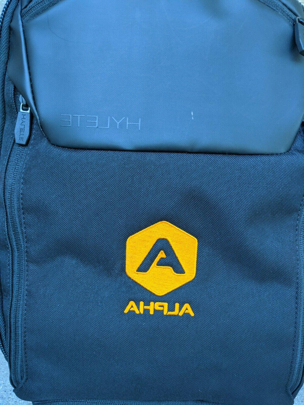 Hylete Backpack Expand embroidery