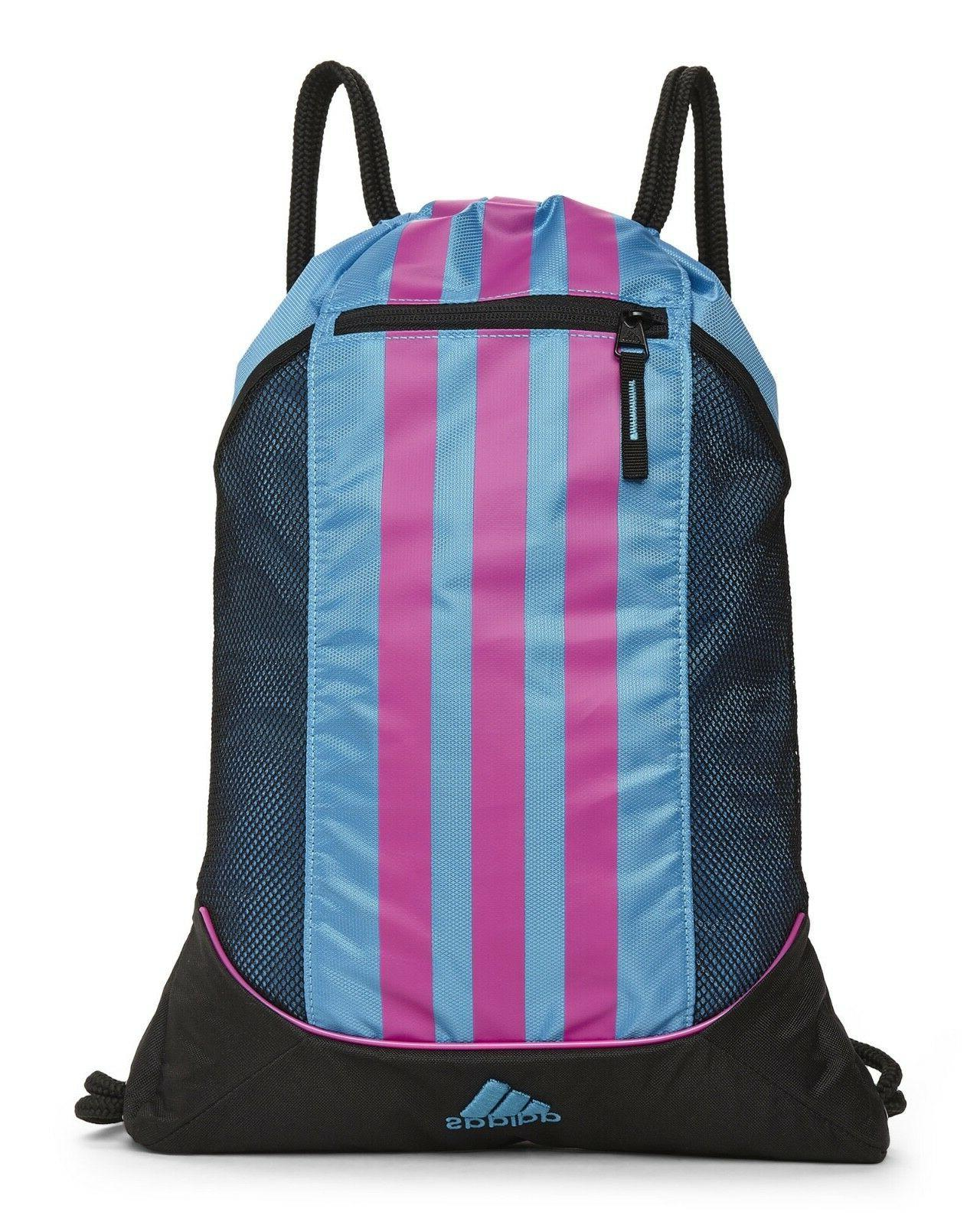 Adidas Alliance Sack Pack Drawstring Gym Bag Unisex Backpack