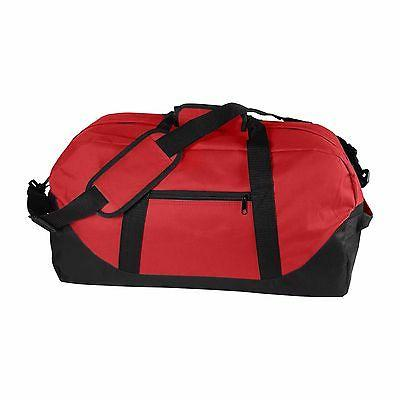 """DALIX 21"""" Duffle Two-Toned Gym Bag in and Black"""