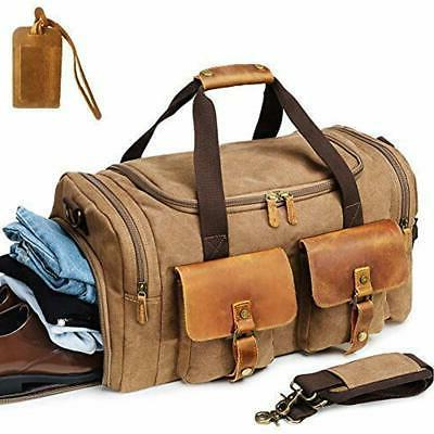 Kemy S Canvas Duffle Bag Oversized Overnight Bags