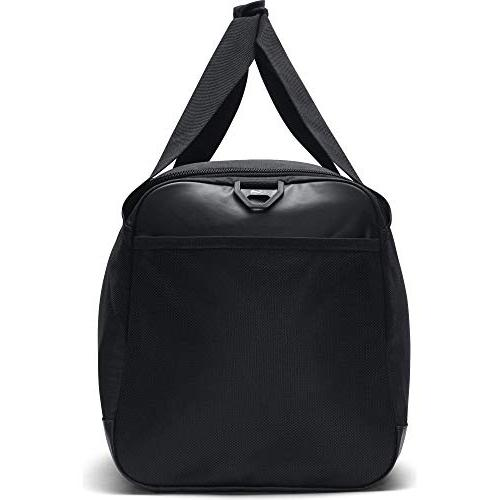 NIKE Brasilia Bag, Black/Black/White, Medium