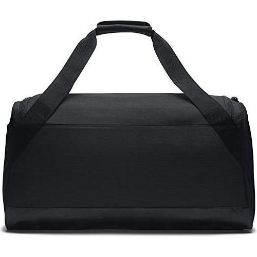 NIKE Brasilia Bag, Black/Black/White,