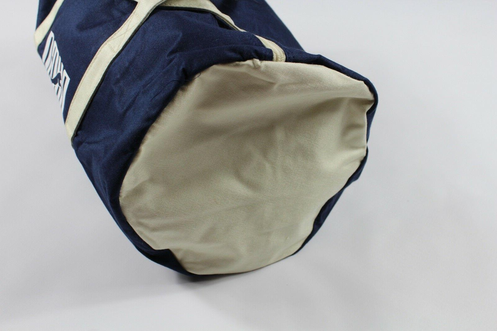 NOS 90s Puma Spell Out Canvas Duffel Carry