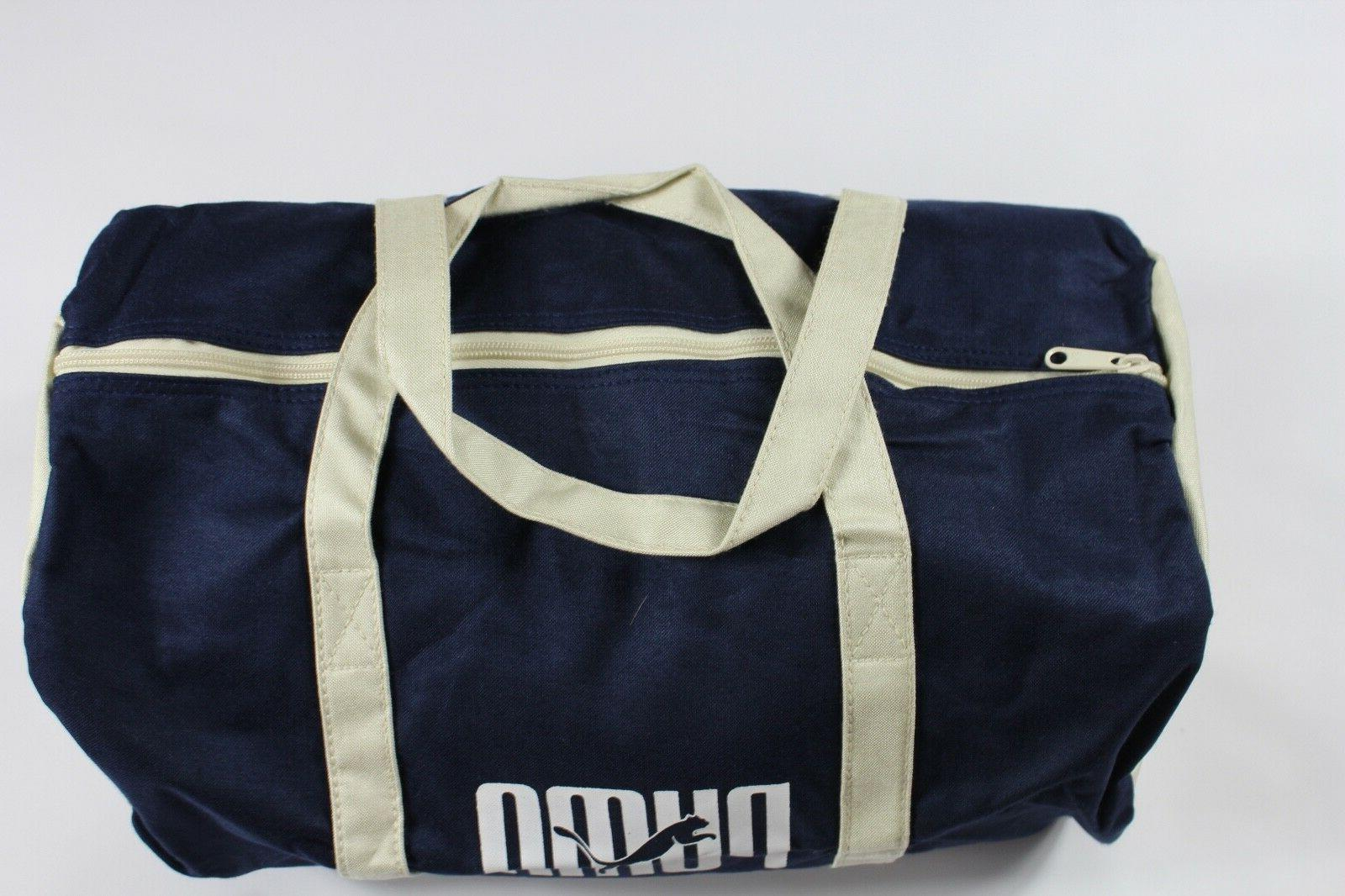 NOS Vintage Spell Handled Duffel Carry On
