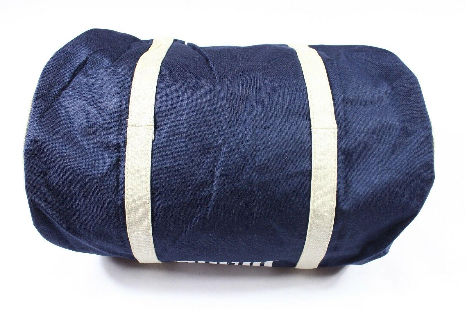 NOS Vintage 90s Puma Spell Out Handled Duffel Gym Bag Carry