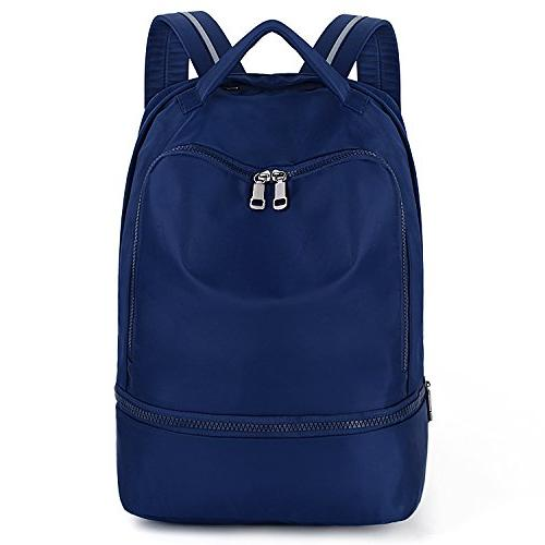 UTO Backpack Nylon Fucntion Bag 3M Straps Blue