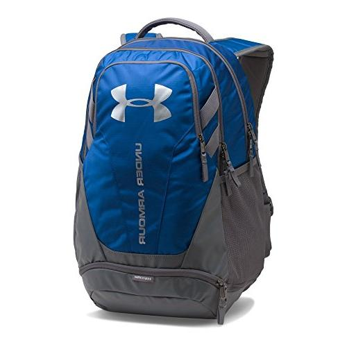 Under Armour Hustle 3.0 Backpack,Royal /Silver, One Size