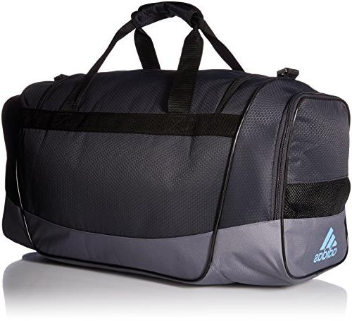 adidas Defender III Duffel Bag, Blue, Medium
