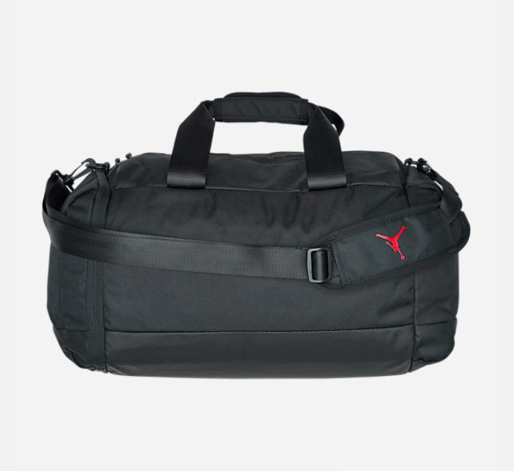 f7d67c300a4 Air Jordan Jumping Man New Black Basketball/Gym/Sports Duffel