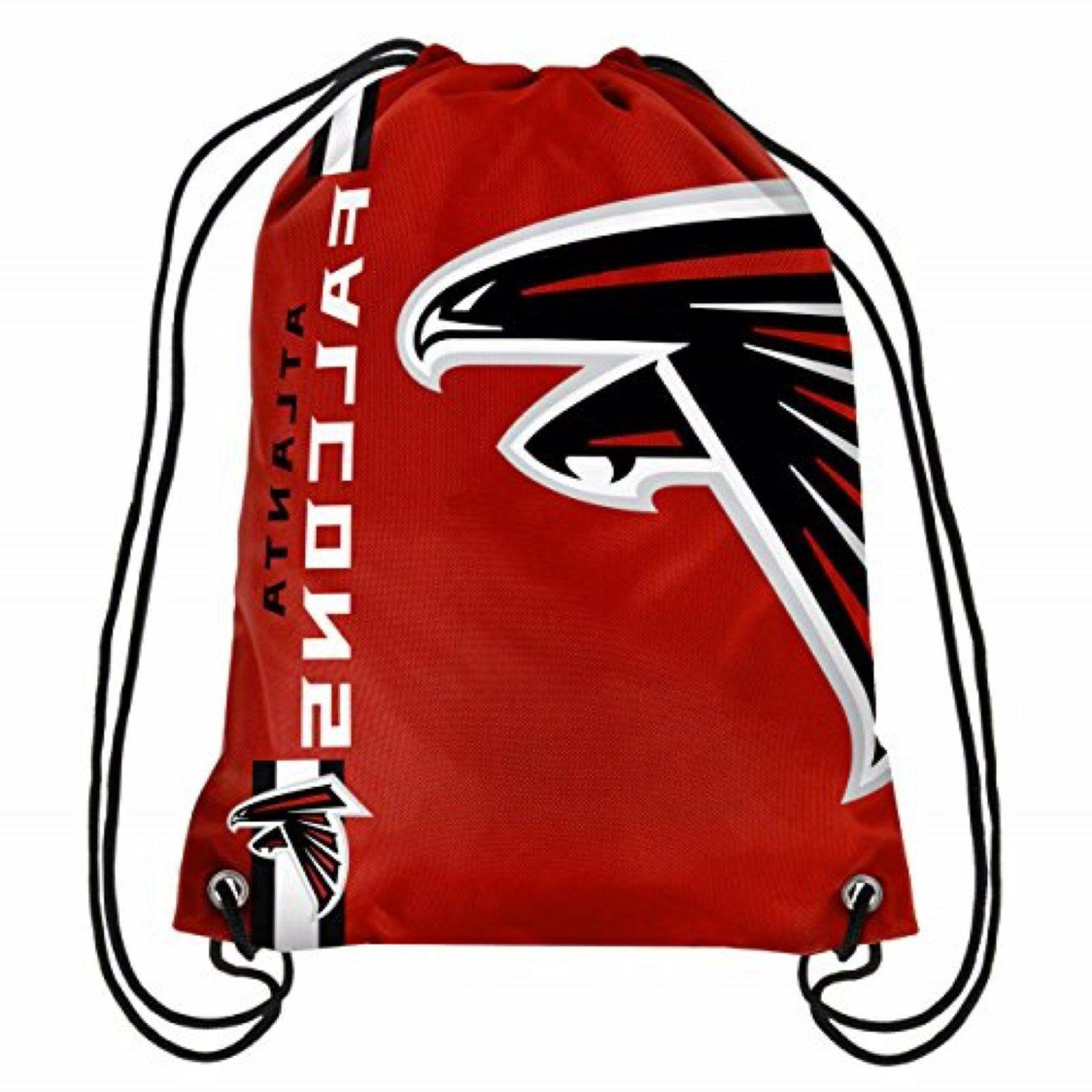 Atlanta Falcons NFL Drawstring Backpack sack / Gym bag