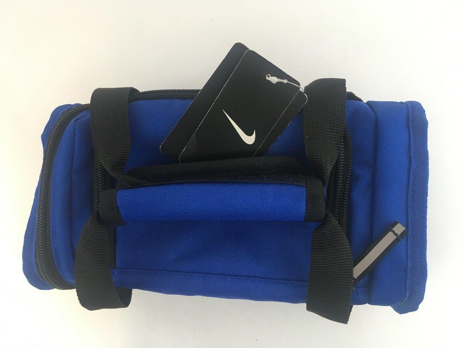 Nike Blue Bag Lunch Box New w Tags Retro RARE