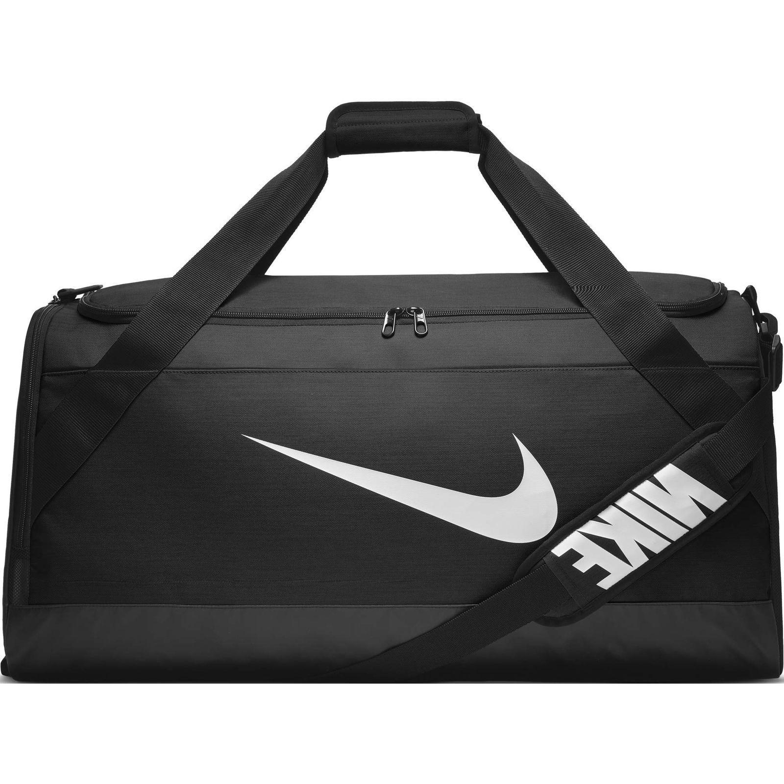 brasilia training duffel bag black black white