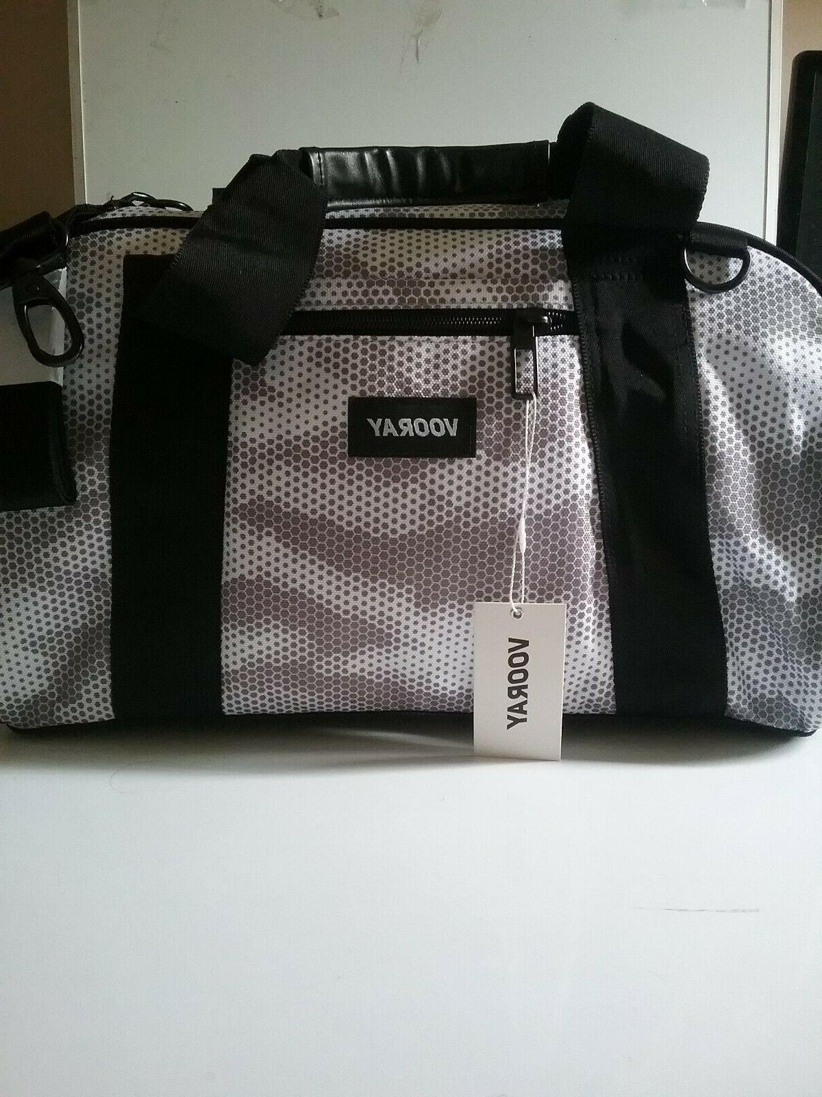 VOORAY Gym Duffel Bag CAMO * New Package Retail $50