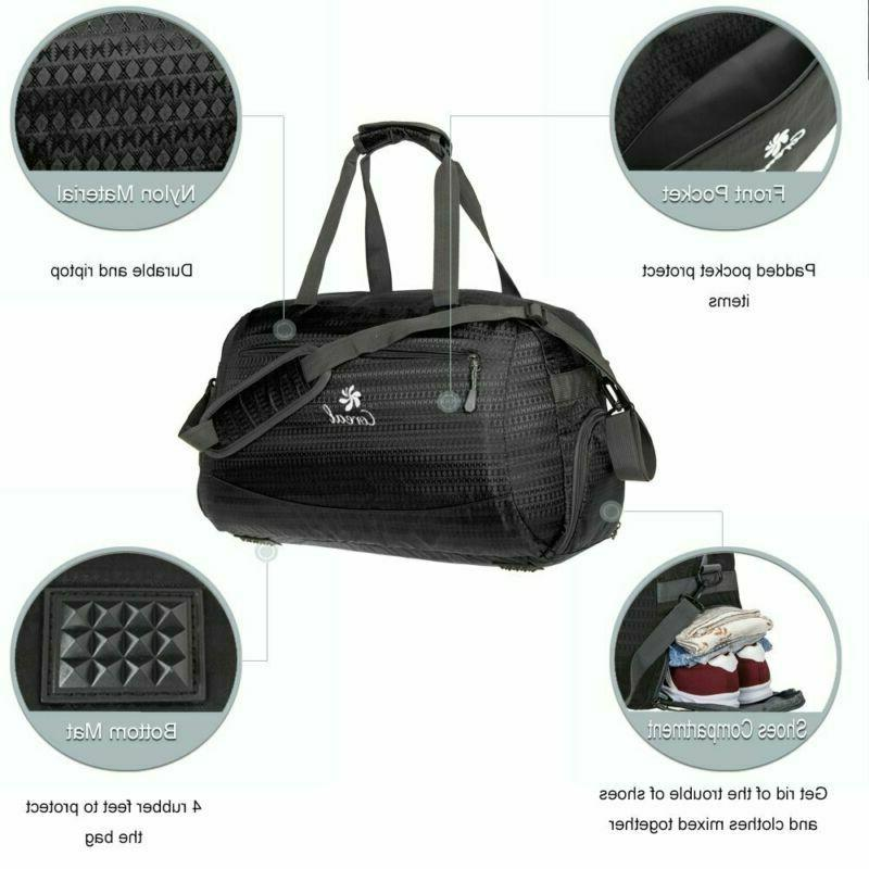 Coreal Sport Duffel Bag Compartment Women