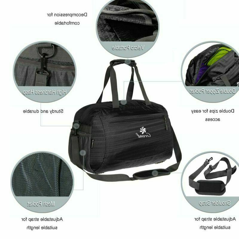 Coreal Bag Duffel Compartment For Men Women