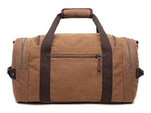 CrossLandy Canvas for Overnight Travel on Tote