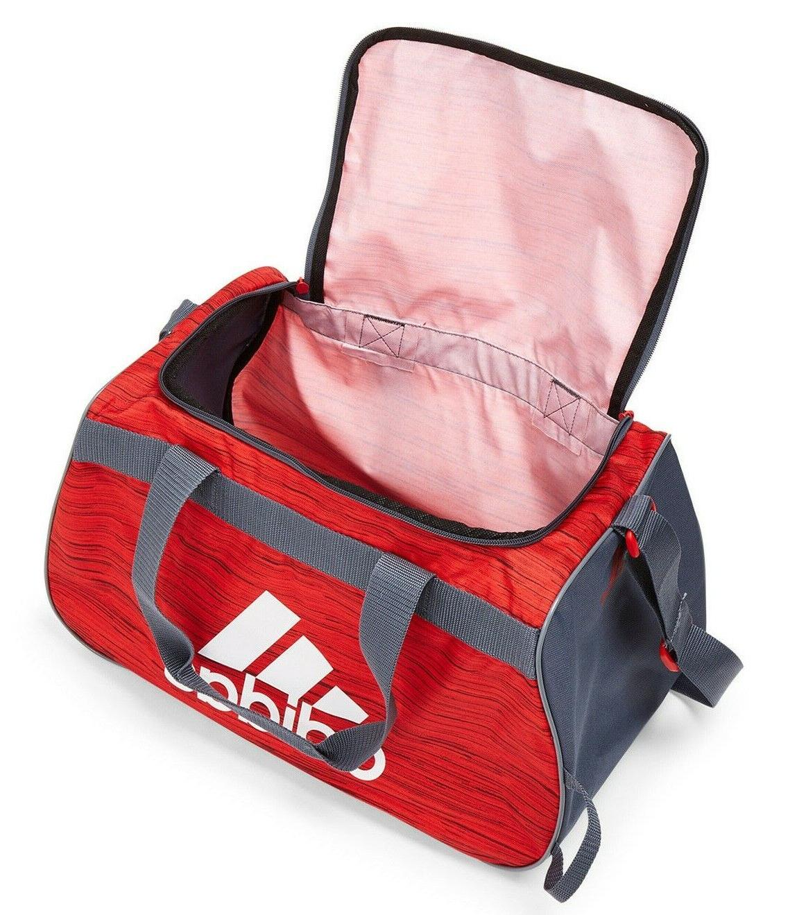 ADIDAS SMALL RED WHITE TOP Sports Locker Bag NEW