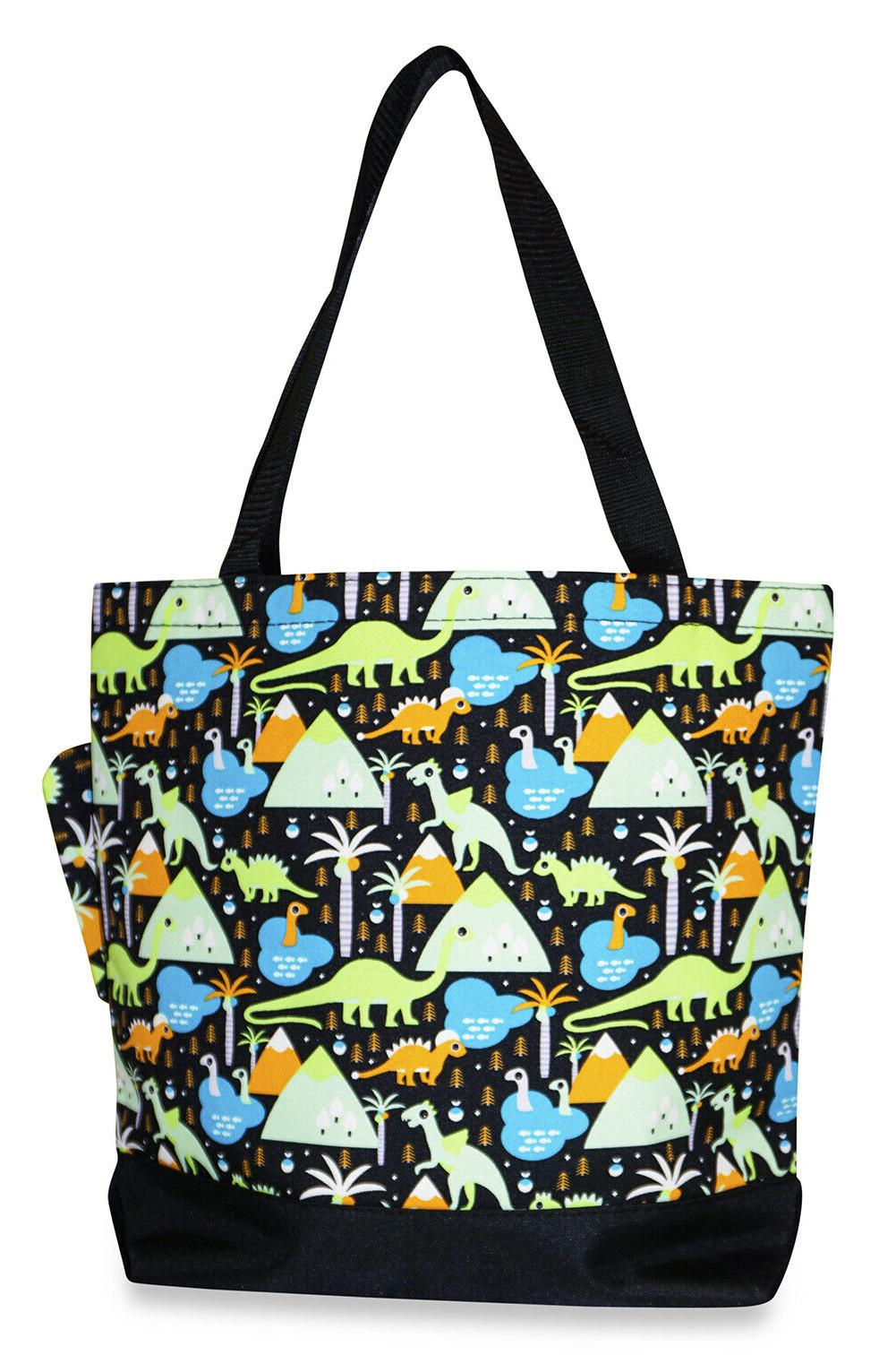 dinosaur womens travel tote bag purse handbag