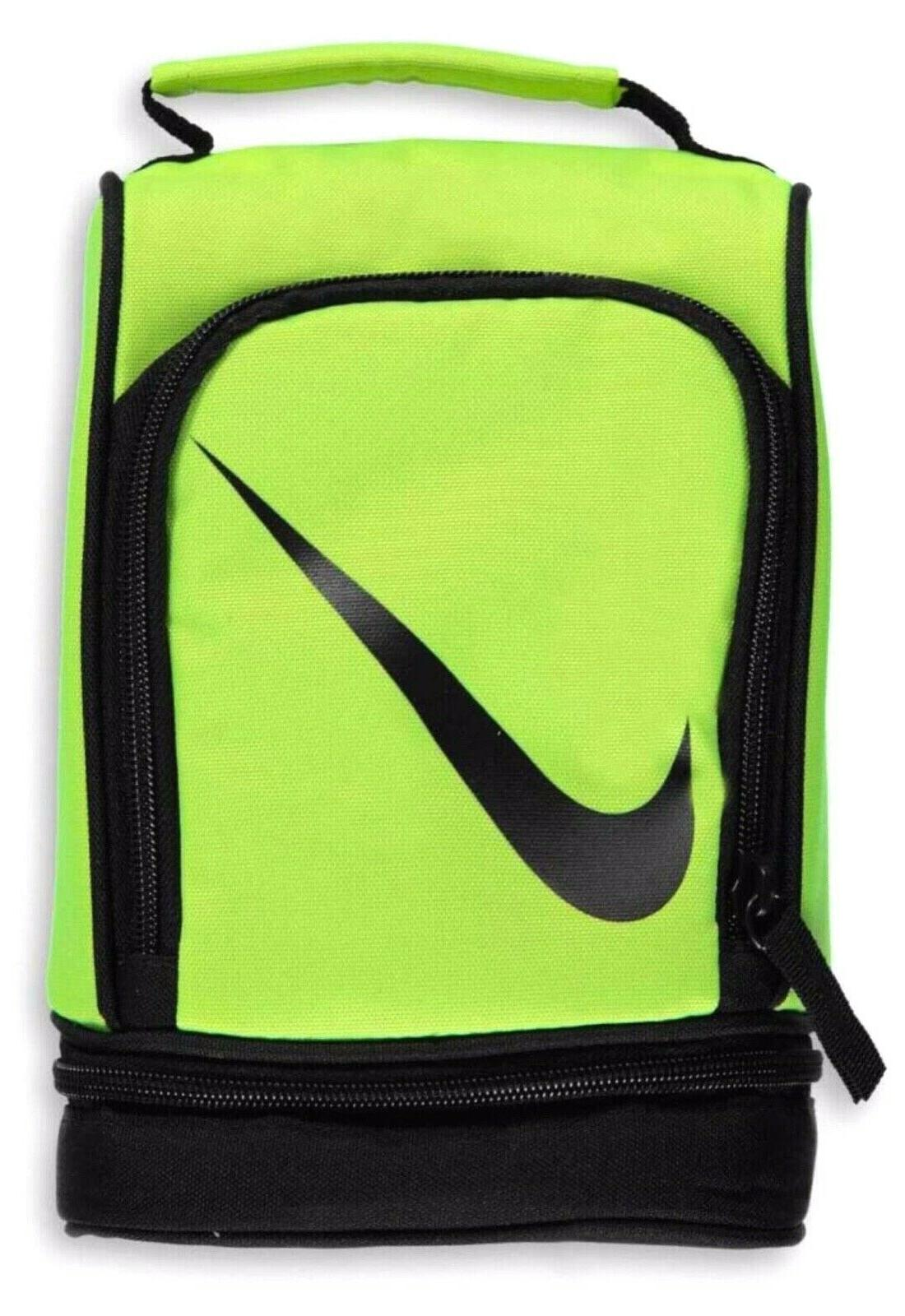 dome lunch bag neon yellow
