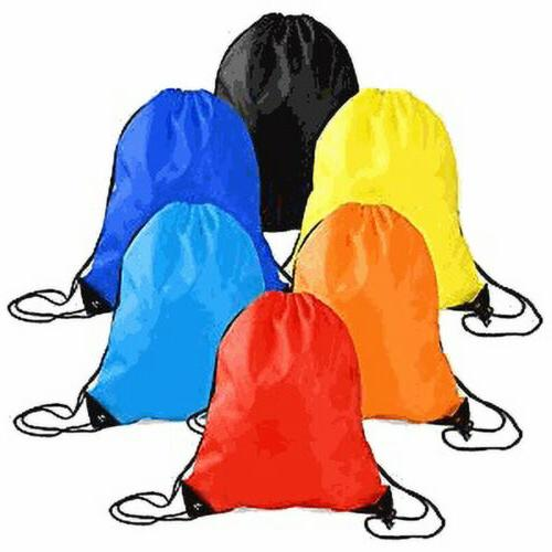 string drawstring backpack cinch sack pack bag