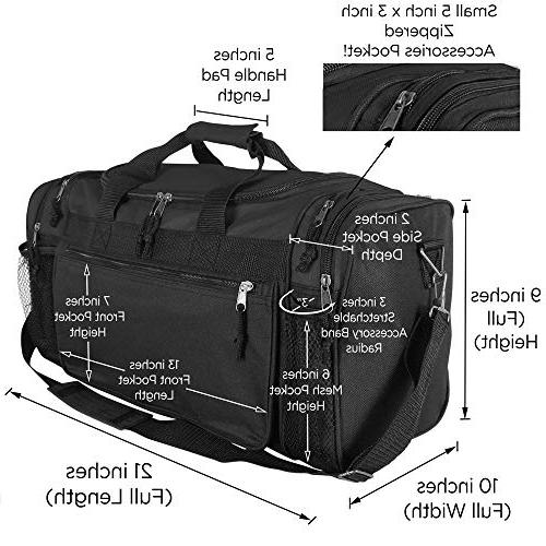 Dalix Sports Duffle with and
