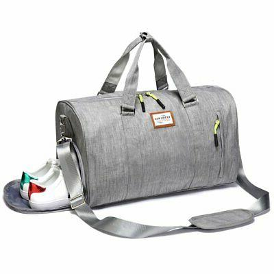 Kenox Duffle Bag Sports Gym Travel Luggage Including Shoes C