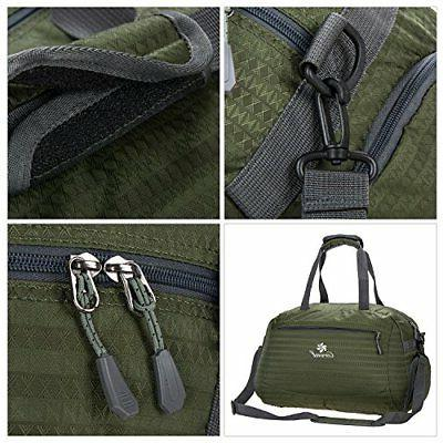 Coreal Duffle Sports Gym Travel Including Shoes Women
