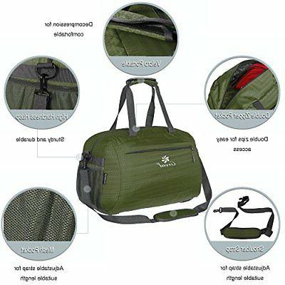 Coreal Duffle Sports Gym Travel Luggage Including Shoes Compartment Women