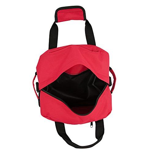 """14"""" Duffle Two Toned Travel Bag in"""