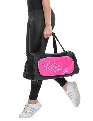 MIER Bag for Women Shoes Compartment, 18inch