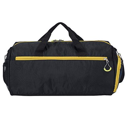 Kuston Sports with Shoes Compartment Duffel Bag for Men and Women
