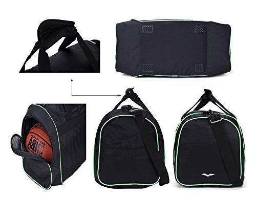 MIER Sports Shoe Compartment for Black