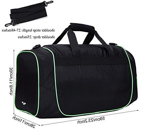 MIER 24Inch Sports Shoe Compartment for Black