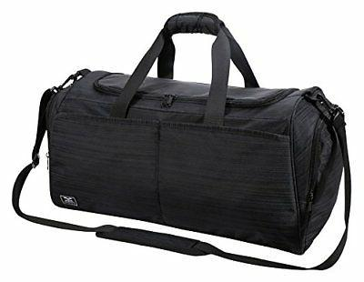 MIER Gym Bag for Women and Men Sports Duffle with shoe Compa