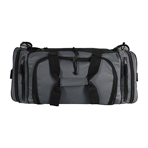 Dalix Inch Duffle Mesh and Pockets,