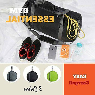 Large Sport Duffel Bag Athletic Women Foldable Carry Bag