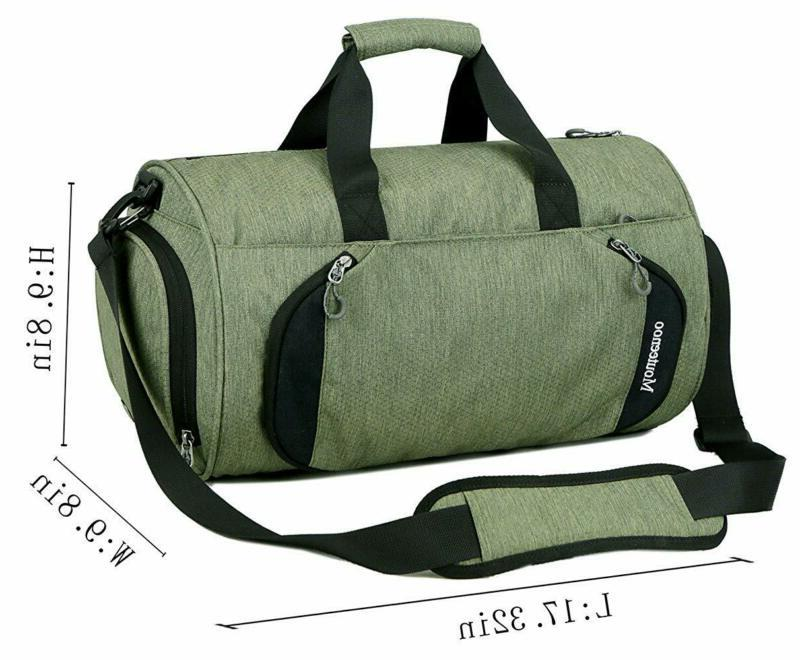 Gym Bag Women with Compartment - Mouteenoo