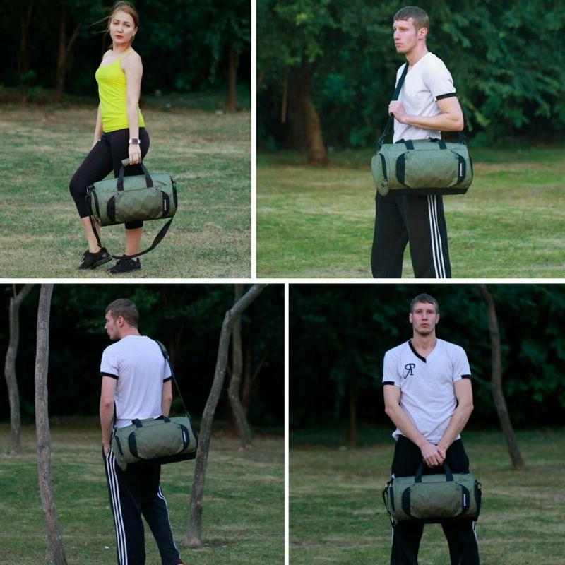 Gym Sports Bag for and Women -