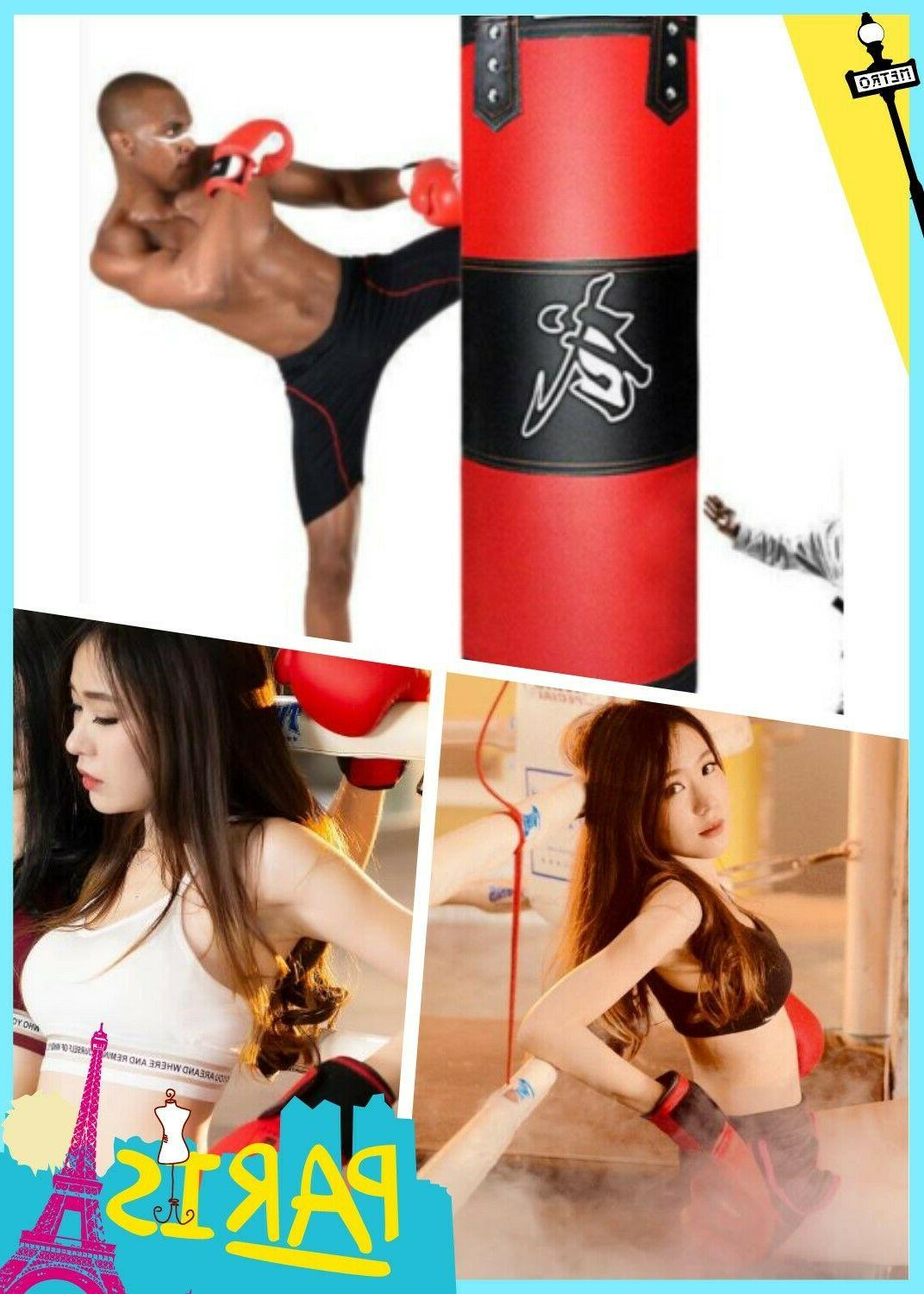 Heavy Boxing Punching Training Gloves Speed Kicking MMA Workout GYM