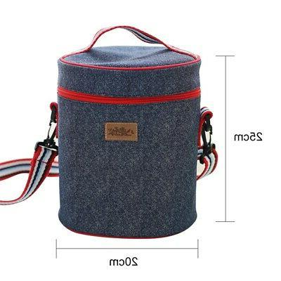 Insulated Lunch Adult Work Women Kids