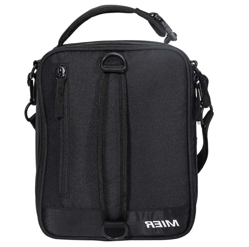 Mier Insulated Lunch Bag Expandable Lunch Pack For Kids,