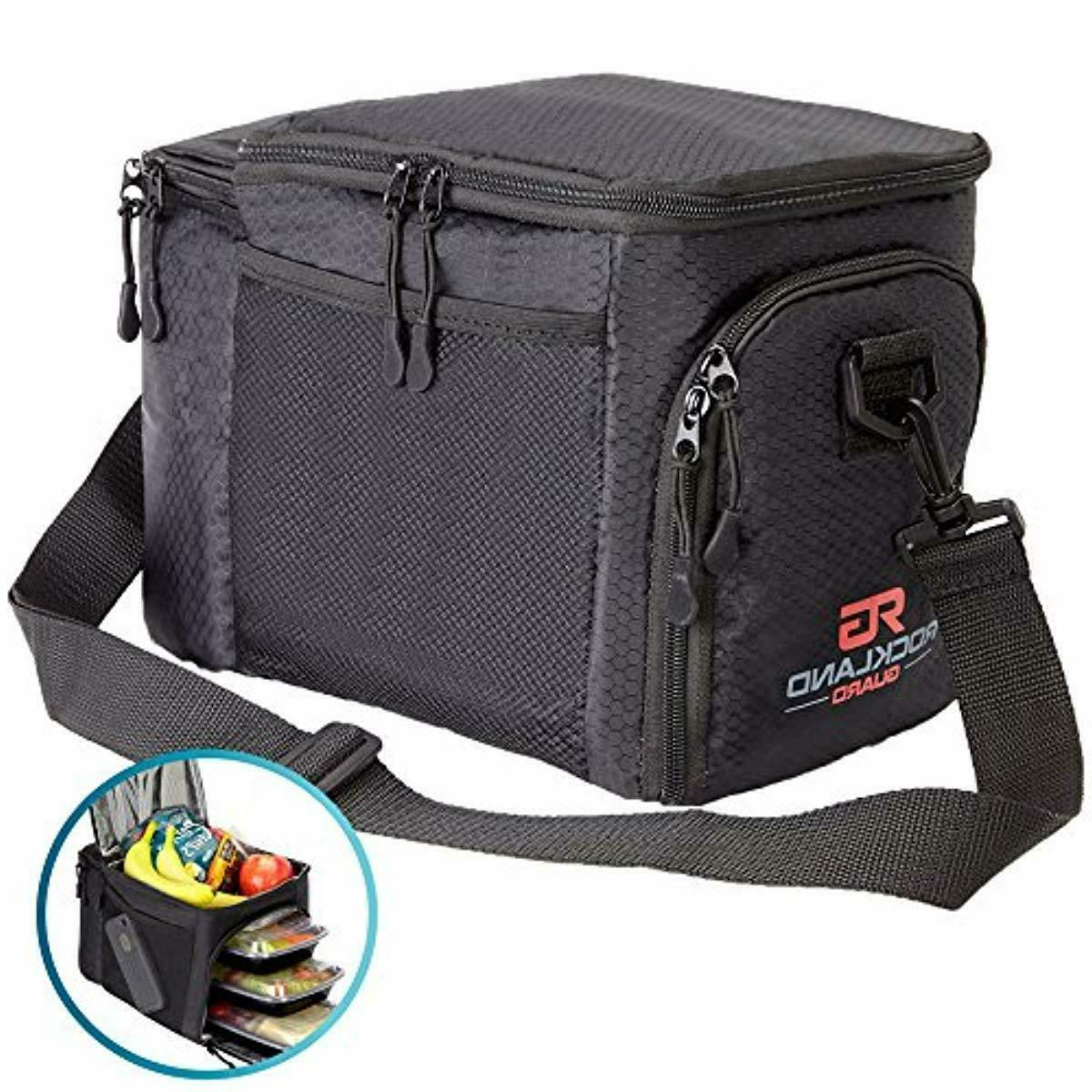 Rockland Guard Prep Bag Hot Cold Lunch Box Gym