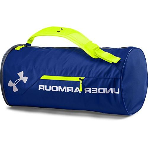 Under Armour Unisex Isolate Duffel Bag, Royal/Silver, One Si