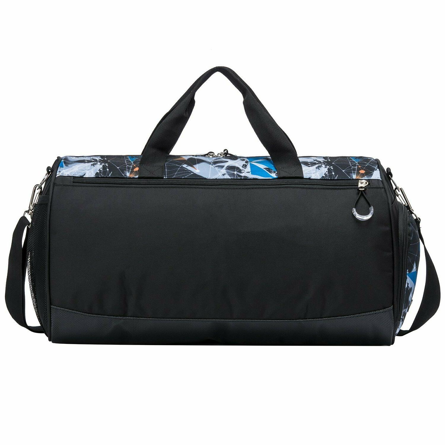 Kuston Sports Gym with Shoes Duffel Bag for and