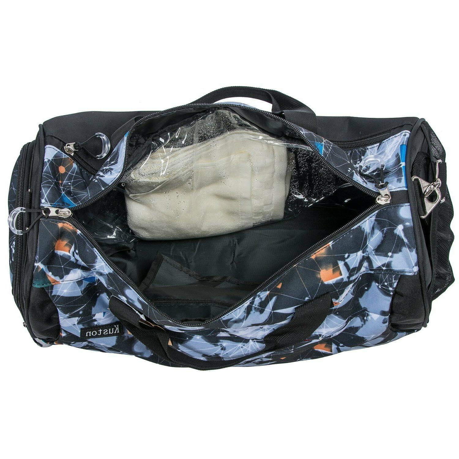 Kuston Sports Duffel and Women