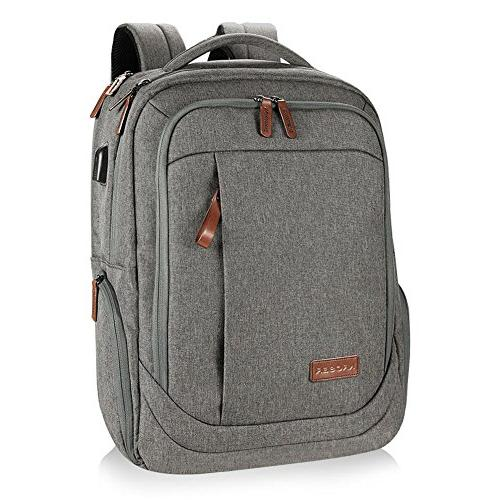 KROSER Laptop Backpack Water-repellent Computer Fits Up 17.3 Inch Laptop With