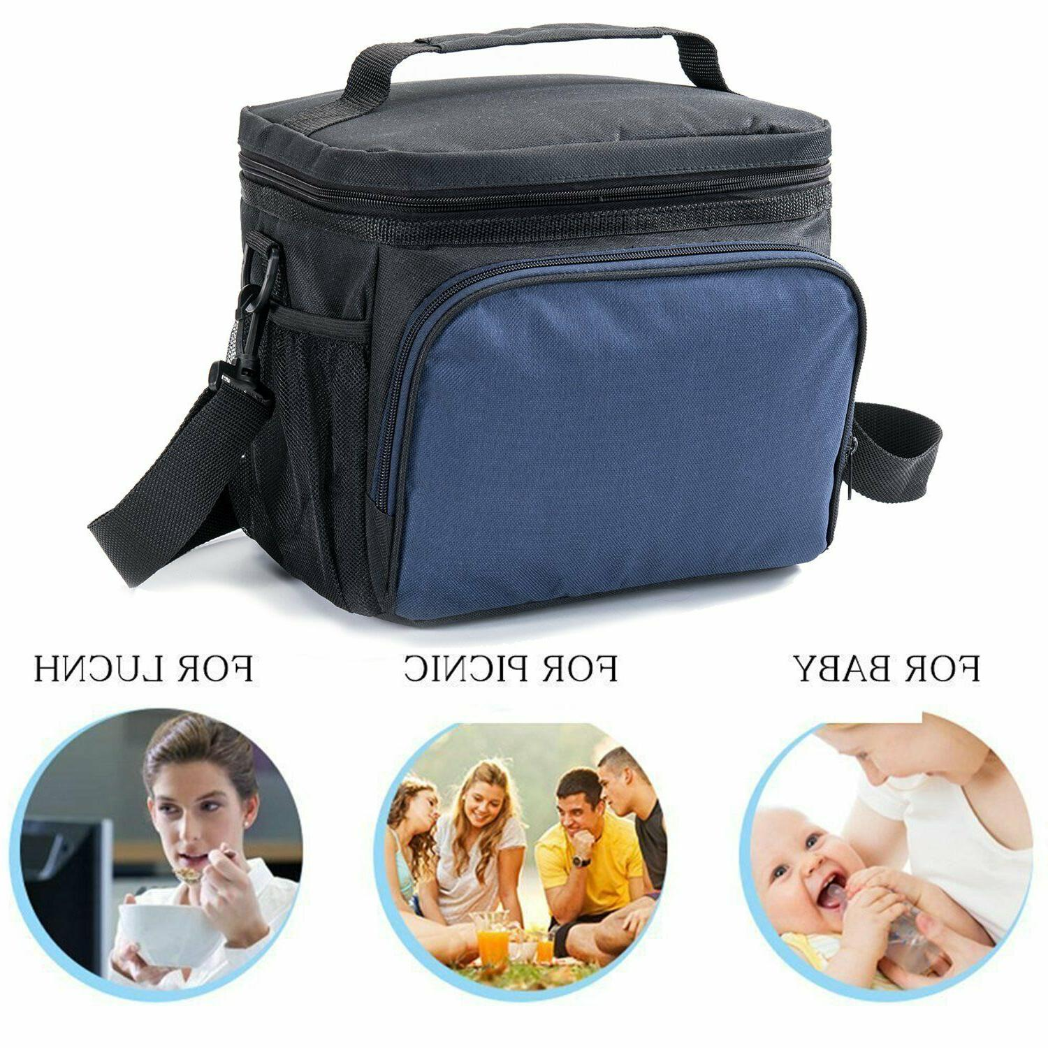 Meal Prep Fitness Insulated Picnic FREE Containers